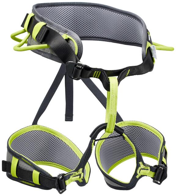Edelrid Zack Klettergurt Test : Edelrid zack harness slate oasis campz